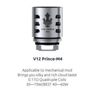 RESISTENCIA SMOK TFV12 PRINCE M4 0.17 OHM UD