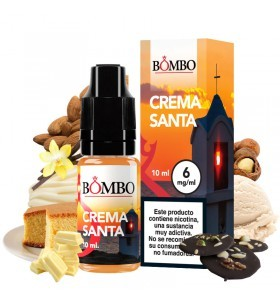ELIQUID BOMBO CREMA SANTA 10ML