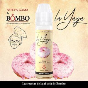 ELIQUID BOMBO LA YAYA DONUT GLASEADO FRESA 50ML
