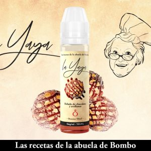 ELIQUID BOMBO LA YAYA HELADO CHOCO Y AVELLANA 50ML