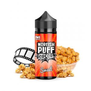 ELIQUID MOREISH PUFF POPCORN SWEET 100ML