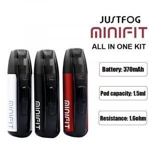 JUSTFOG MINIFIT 1.5ML 370MAH