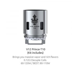RESISTENCIA SMOK TFV12 PRINCE T10 80-110W UD