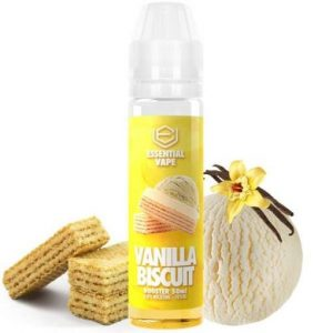 ELIQUID ESSENTIAL VAPE VANILLA BISCUIT 50ML