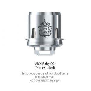 RESISTENCIA SMOK TFV8 X BABY Q2 0.40 OHM