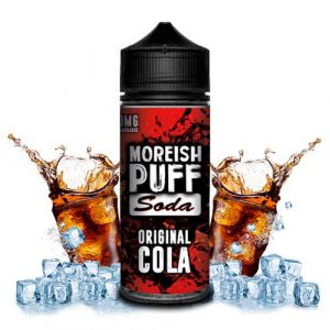 ELIQUID MOREISH PUFF COLA 100ML