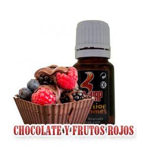 AROMA OIL 4 VAP CHOCOLATE Y FRUTOS ROJOS 10ML
