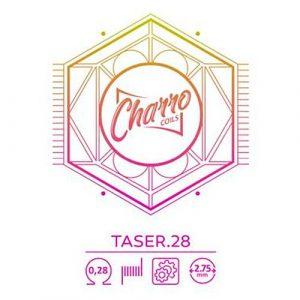 RESISTENCIA CHARRO COILS SINGLE TASER 28 0.28OHM