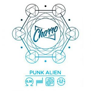 RESISTENCIA CHARRO COILS SINGLE PUNK ALIEN 0.30 OHM
